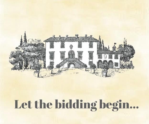 Let the bidding begin...